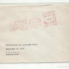 Sellos: FRANQUEO MECANICO 1963 DERMETAL DE BARCELONA A BCN. Lote 218614275