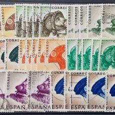 Sellos: AÑO 1958. Nº 1224/31. IV CENT. DE LA MUERTE DE CARLOS I DE ESPAÑA Y V DE ALEMANIA. 5 SERIES.. Lote 218927057