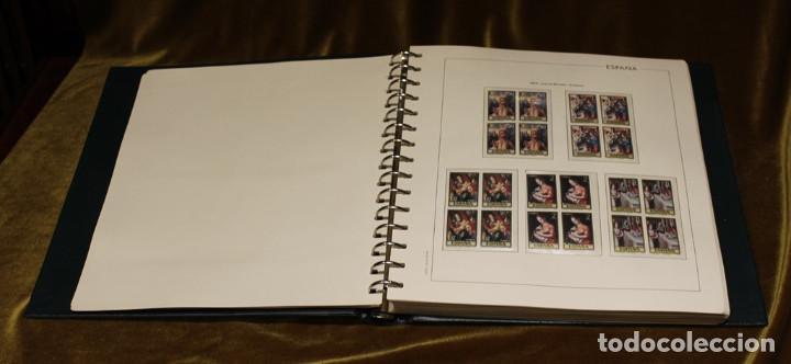 Sellos: Álbum con sellos, España 1970 - 1973,en bloque de cuatro,hojas edifil 197-250, completo - Foto 4 - 219771086