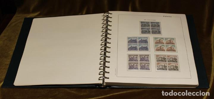 Sellos: Álbum con sellos, España 1970 - 1973,en bloque de cuatro,hojas edifil 197-250, completo - Foto 5 - 219771086