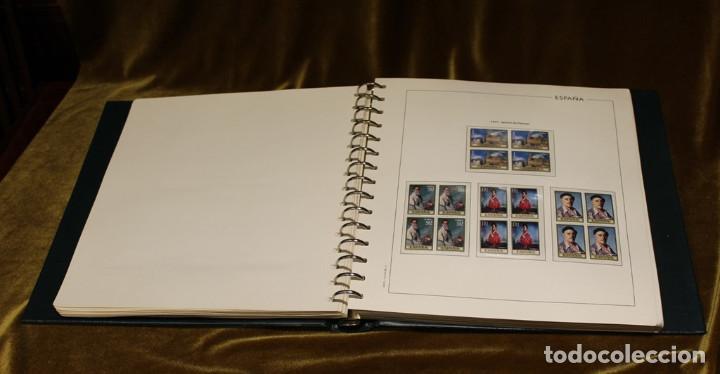 Sellos: Álbum con sellos, España 1970 - 1973,en bloque de cuatro,hojas edifil 197-250, completo - Foto 6 - 219771086