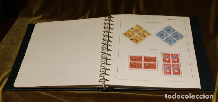 Sellos: Álbum con sellos, España 1970 - 1973,en bloque de cuatro,hojas edifil 197-250, completo - Foto 7 - 219771086