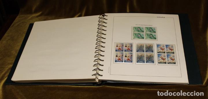 Sellos: Álbum con sellos, España 1970 - 1973,en bloque de cuatro,hojas edifil 197-250, completo - Foto 8 - 219771086