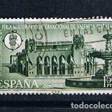 Sellos: EDIFIL 1797 ANIVERSARIO FERIA INTERNACIONAL DE VALENCIA SELLO USADO ESPAÑA 1967. Lote 220141508