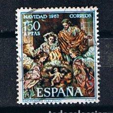 Sellos: EDIFIL 1838 NAVIDAD, NACIMIENTO DE SALZILLO SELLO USADO ESPAÑA 1967. Lote 220142210