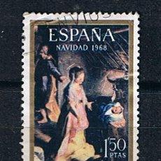 Sellos: EDIFIL 1897 NAVIDAD, NACIMIENTO DE FIORIDA URBINO SELLO USADO ESPAÑA 1968. Lote 220142498