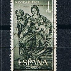 Sellos: EDIFIL 1535 NAVIDAD, NACIMIENTO BERRUGUETE -SELLO USADO ESPAÑA 1969. Lote 220171103