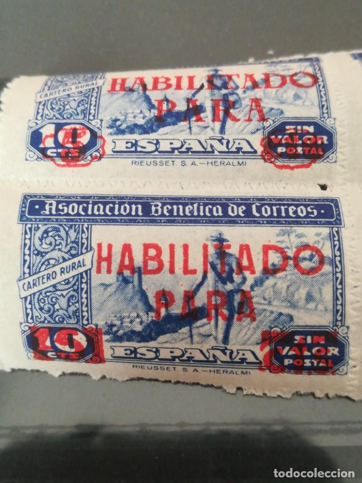 Sellos: Set sellos España Habilitado para, con goma - Foto 2 - 220740773