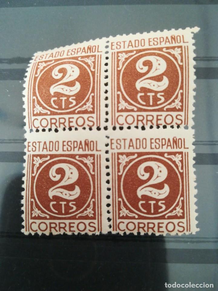 SET SELLOS ESPAÑA 2 CTS, CON GOMA (Sellos - España - II Centenario De 1.950 a 1.975 - Nuevos)