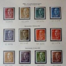 Timbres: ESPAÑA 1955-56. .EDIFIL.1143-1163 MNH.NUEVO**. Lote 220897568