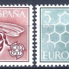 Sellos: EDIFIL 1448-1449 EUROPA-CEPT 1962 (SERIE COMPLETA). MNH **. Lote 220994791