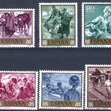 Sellos: EDIFIL 1566-1575 JOAQUÍN SOROLLA 1964 (SERIE COMPLETA). MNH **. Lote 221002675