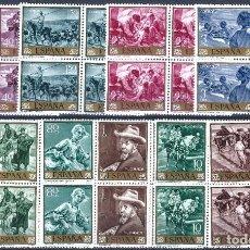 Sellos: EDIFIL 1566-1575 JOAQUÍN SOROLLA 1964 (SERIE COMPLETA B/4). VALOR CATÁLOGO: 18 €. MNH **. Lote 221002787