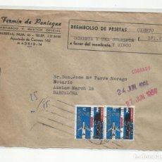 Sellos: CIRCULADA 1964 DE MADRID A BARCELONA. Lote 221260681