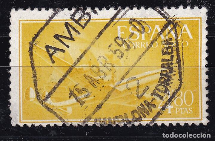 CL12-30- NAO Y CUATRIMOTOR MATASELLOS AMBULANTE 2 PAMPLONA-TORRALBA (Sellos - España - II Centenario De 1.950 a 1.975 - Usados)