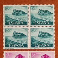 Sellos: ESPAÑA N°1933/34 MNH** EN BLOQUES DE 4 (FOTOGRAFÍA ESTÁNDAR). Lote 296734988