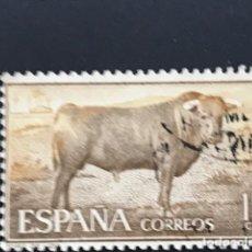 Sellos: SELLOS ESPAÑA EDIFIL 1254 USADOS TAUROMAQUIA. Lote 221712492