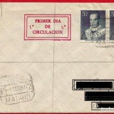 Sellos: EDIFIL 1102 SAN ANTONIO MARÍA CLARET - SOBRE PRIMER DÍA - 4 FOTOS. Lote 221886296