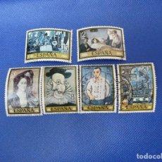 Sellos: ESPAÑA COL PINTORES, PABLO PICASSO, SELLOS USADOS, BIEN CONSERVADOS.VER FOTOS.. Lote 222154352