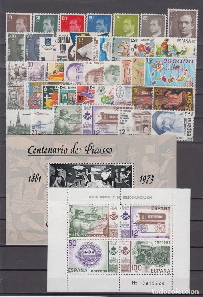 SELLOS ESPAÑA 1981 AÑO COMPLETO MNH NUEVOS GOMA ORIGINAL (Sellos - España - II Centenario De 1.950 a 1.975 - Nuevos)