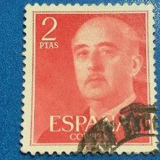 Sellos: USADO. AÑO 1955 - 1956.. EDIFIL 1157. GENERAL FRANCO.. Lote 222579221