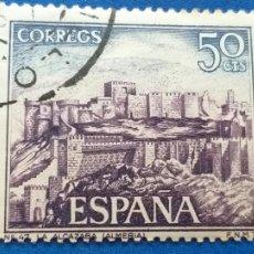 Sellos: USADO. AÑO 1970. EDIFIL 1982. SERIE TURISTICA. ALCAZABA DE ALMERIA. Lote 223475793