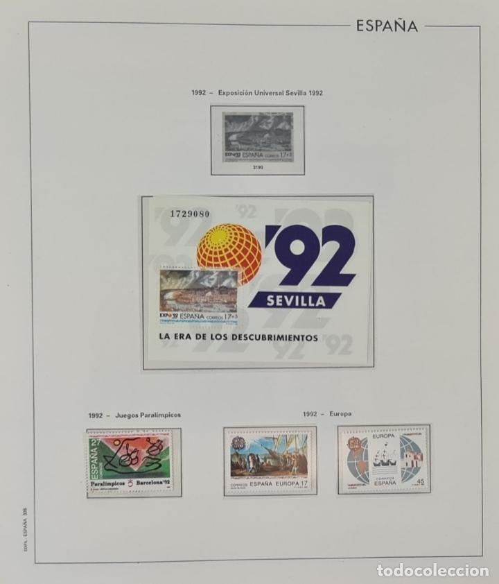 Sellos: COLECCION DE 1353 SELLOS EN 6 CARPETAS ARCHIVADORAS. SIN TIMBRAR. SIGLO XX. - Foto 8 - 223549272
