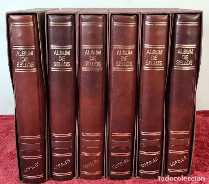 COLECCION DE 1353 SELLOS EN 6 CARPETAS ARCHIVADORAS. SIN TIMBRAR. SIGLO XX. (Sellos - España - II Centenario De 1.950 a 1.975 - Nuevos)