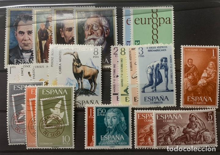 8 SERIES NUEVAS AÑOS 60/70. CON LIGERA SEÑAL DE FIJASELLOS (Sellos - España - II Centenario De 1.950 a 1.975 - Nuevos)