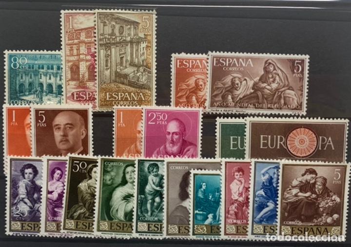 6 SERIES AÑOS 60. NUEVAS CON LIGERA SEÑAL DE FIJASELLOS (Sellos - España - II Centenario De 1.950 a 1.975 - Nuevos)