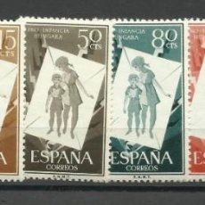 Timbres: SERIE PRO INFANCIA HUNGARA. Lote 225762585
