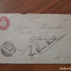 Sellos: SOBRE DE CARTA BASEL - ZURICH, SUIZA 13.II.1971. Lote 226436807