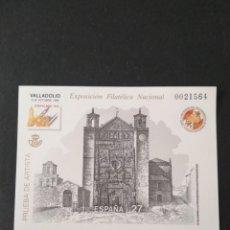 Timbres: SELLOS ESPAÑA PRUEBA DE LUJO Nº 27. Lote 226631060