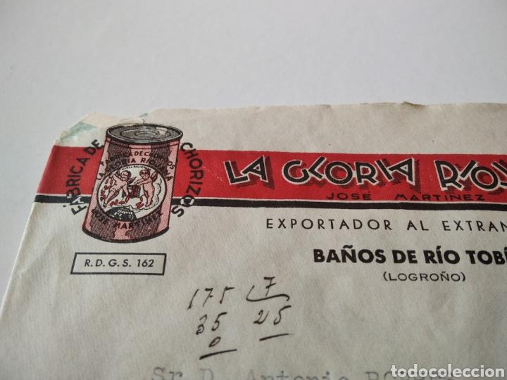 Sellos: Fabrica de Chorizos LA GLORIA RIOJANA , Baños de Río Tobía - Foto 2 - 227467210