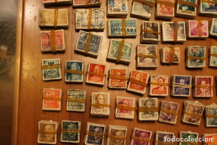 Sellos: LOTE DE 94 PASTILLAS DE SELLOS USADOS DE ESPAÑA (VER FOTOS) - Foto 6 - 228168600