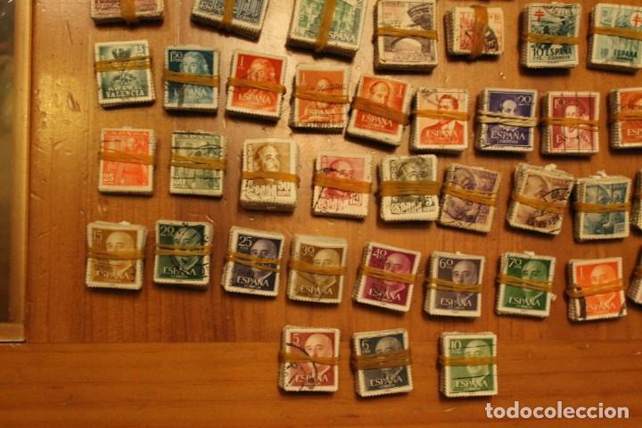 Sellos: LOTE DE 94 PASTILLAS DE SELLOS USADOS DE ESPAÑA (VER FOTOS) - Foto 7 - 228168600