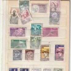 Sellos: 1962 CONJUNTO 31 SELLOS USADOS ESPAÑA. Lote 228209540