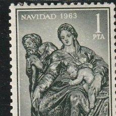 Sellos: 1963 NAVIDAD NACIMIENTO ALONSO DE BERRUGUETE. EDIFIL 1536 . NUEVO. Lote 228803230