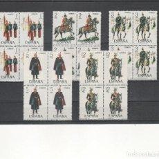 Selos: ESPAÑA- 2451/55 UNIFORMES MILITARES SELLOS NUEVOS EN BLOQUE DE 4 (SEGUN FOTO). Lote 229428175