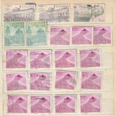 Sellos: ESPAÑA AÑO 1969 LOTE CON 55 SELLOS. NUMERACIÓN EDIFIL. Lote 229494685