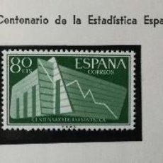 Sellos: SERIE COMPLETA EDIFIL 1196 / 1198 , CENTRO ESTADÍSTICA , NUEVOS. Lote 230056525