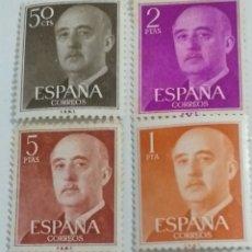 Sellos: LOTE 4 SELLOS DE FRANCO. Lote 231921835