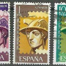 Timbres: EDIFIL 1431 - 1433 DIA DEL SELLO 1962 , USADOS, SIMILARES A LOS DE LA FOTO.. Lote 232065580