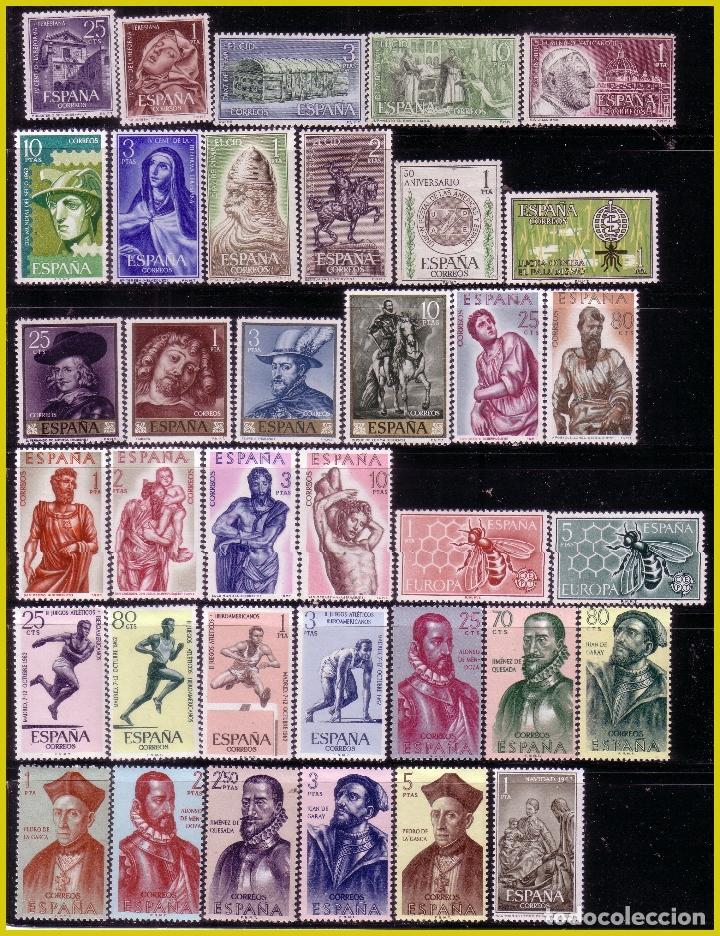 Sellos: 1962 Año Completo, EDIFIL nº 1406 a 1480 * * - Foto 2 - 232307265