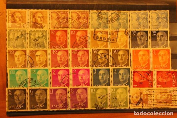 SELLOS FRANCO EN PAREJA USADOS (Sellos - España - II Centenario De 1.950 a 1.975 - Usados)