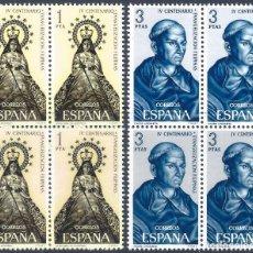 Sellos: EDIFIL 1693-1694 CENTENARIO DE LA EVANGELIZACIÓN DE FILIPINAS 1965 (SERIE COMPLETA B/4). MNH **. Lote 234289510