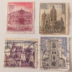 Sellos: 4 SELLOS ESPAÑA 1964. Lote 234509020