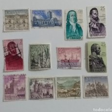 Sellos: 12 SELLOS ESPAÑA 1965 /1975. Lote 235130280