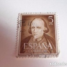 Sellos: ESPAÑA SELLO LITERATO DE CALDERÓN DE LA BARCA. Lote 235174355