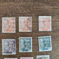 Sellos: 9 SELLOS DE FRANCO. Lote 235508935
